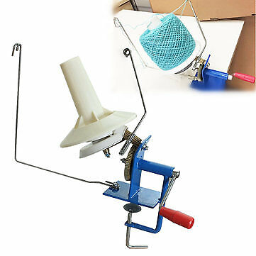Heavy Duty Large Yarn/Wool/String/Fiber Ball Winder Hand Operated Capacity 10 oz