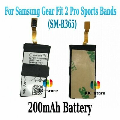 Original EB-BR365ABE 200mAh Battery For Samsung Gear Fit 2 Pro Sports Bands