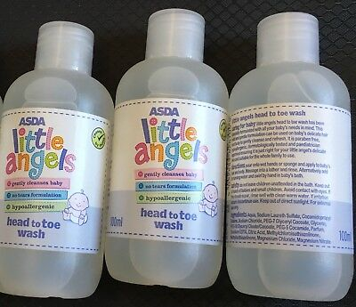 Asda Little Angels Head To Toe Wash