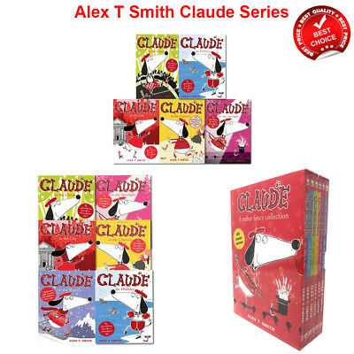 Alex T Smith Claude Series 6 Collection Books set Humour Pack A Rather Fancy NEW