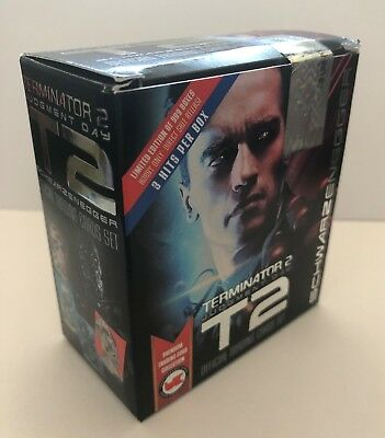 Unstoppable Cards The Terminator 2 Judgement Day Sealed Trading Card Box
