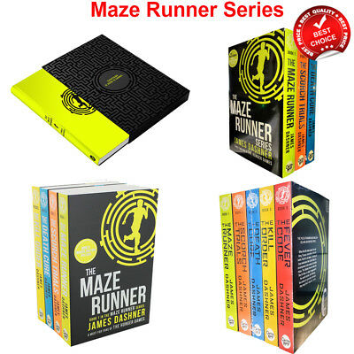 Maze Runner Series books Set James Dashner Collection Pack for Hunger Games Fans