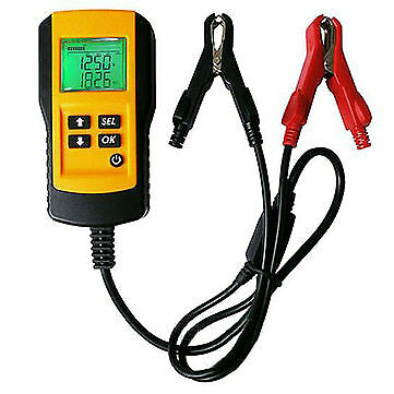 12V LCD Display Automotive Car Vehicle Digital Battery Tester Analyser Tool