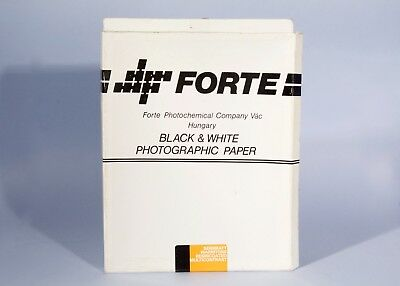 "Forte 9,5x12"" Semimatt Warmtone Multicontrast Photographic * Open Approx 30"
