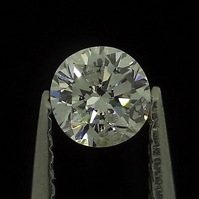 round brilliant natural diamond G I1 0.15ct Genuine Loose Diamonds NR