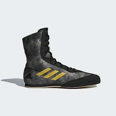 Adidas Boxing Boots Box Hog Plus V2 Retro Sports Trainers Wrestling Shoes Gray