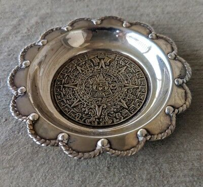 Mexican Sterling Silver .925 Trinket Bowl/ashtray