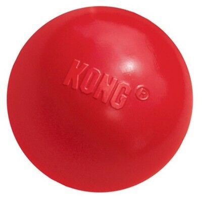 KONG Classic Red Bouncy Ball Strong Rubber Dog Toy Tough Durable Toys or Treats