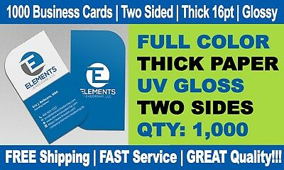 500 LEAF CORNERS Full Color Double Side Custom Business Cards We Can Design it!