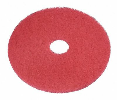 Tough Guy 4RY18 Polyester Fiber Round Buffing & Cleaning Pads | 5 Pcs