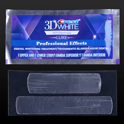 New Professional Crest 3D White Luxe Teeth Whitestrips Effects 40Strips 20 Pouch