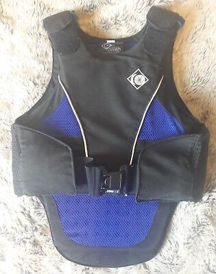 Charles Owen Childs Large Back/body Protector, measurements in listing.
