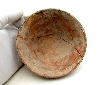 Indus Valley Terracotta Bowl - Ancient Rare Artifact Lovely - L293
