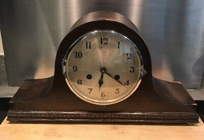 Vintage Napoleon Mantle Clock For Spares Or Repair