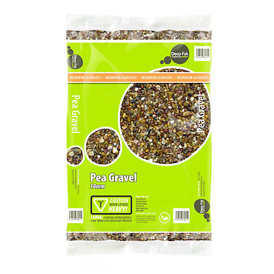 25kg of Decorative Pea Gravel Aggregate - 10mm - MaxPak For Driveways