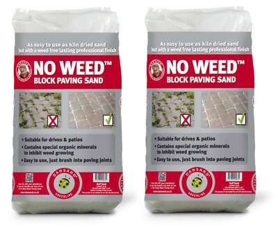 Dansand No Weed Paving Sand 20kg Sweep into blocks paving pavements pation