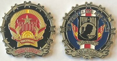 USMC MSG-Det Marine Security Guard Detachment Hanoi, Vietnam Challenge Coin