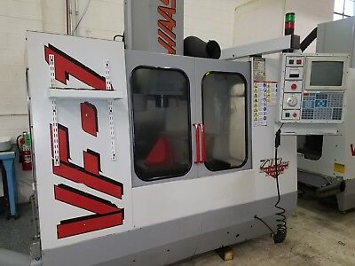 Used Haas VF-1 Vertical Mill Machining Center 20x16 VMC Gear Box P-Cool 4th 2000