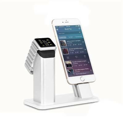 Iphone Series Apple Watch Dock Station Nightstand Base Charging Stand Support
