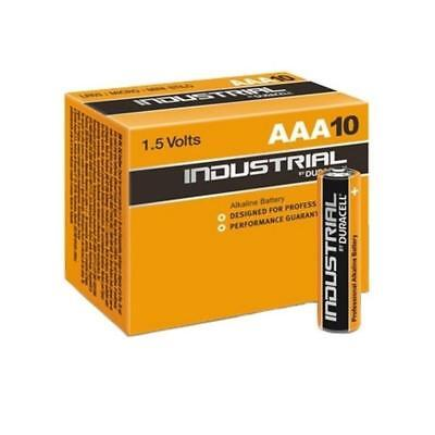 20 Duracell Industrial AAA Alkaline Batteries Replaces Procell LR03 EXPIRY 2024