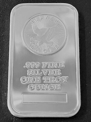 Sunshine Minting Inc 1 Troy oz .999 Fine Silver Art Bar Q2