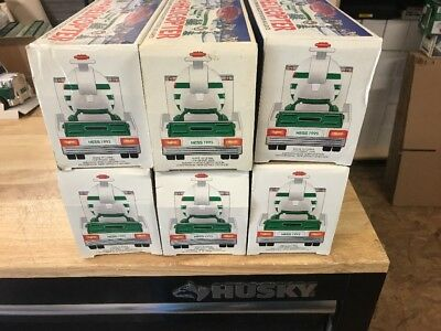 LOOK!!! Lot of 6 Hess Toy Truck 1995