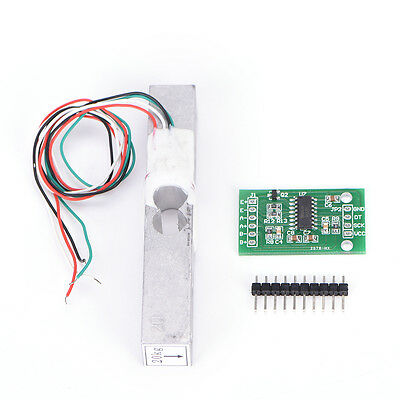 DIY Load Cell Weight Sensor 20KG Portable Scale+HX711 Weighing Sensor Ad Modl RT