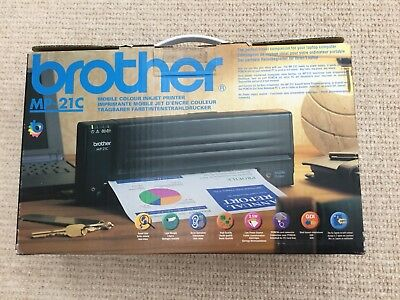 Brother Mp -21C Portable Ink Jet Printer