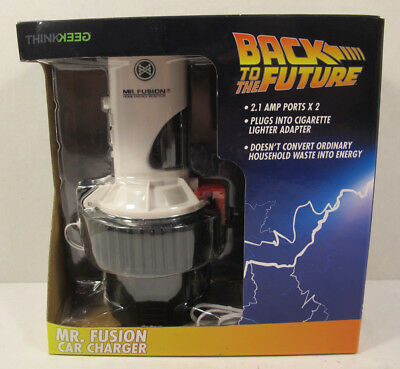 Back to the Future Mr. Fusion Car Charger - ThinkGeek