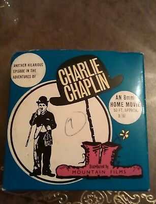Charlie Chaplin 8mm home movie - Charlie Joins the Police