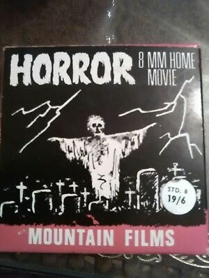 Mountain Films home movie HORROR 8mm