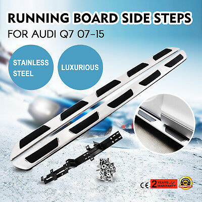 Running Board For Audi Q7 07-15 Stainless Steel Running Board Unique Up