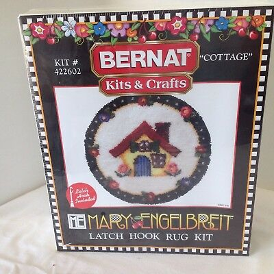 Mary Engelbreit Latch Hook Rug KIT # 422602 Cottage NEW SEALED out of production