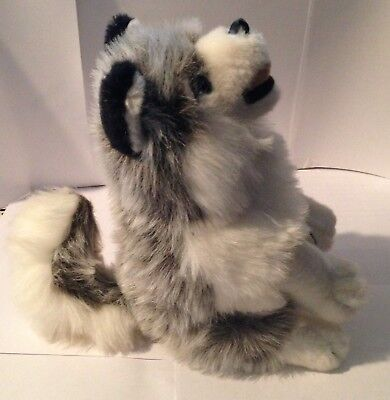 Wolf Wolves -  Wolf Pup - Plush Stuffed - Soft And Life Like - 9 Inches High