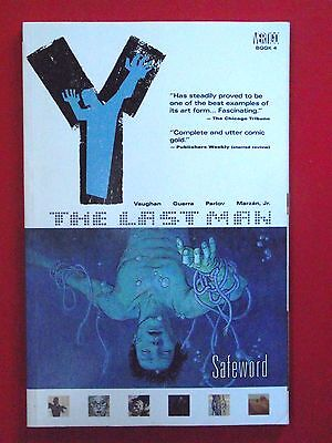 Y: The Last Man: Safeword: 1st Edition P/B 2004 D C Comics Mint Con Vertigo