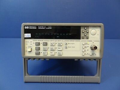 Agilent 53181A RF Frequency Counter, 10 digit/sec No Options.