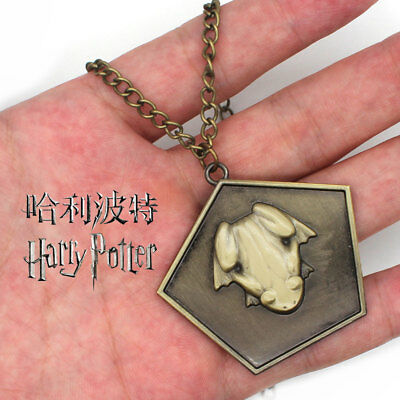 Harry Potter Platform 9-3/4 Chocolate Frog  Zinc Alloy Necklace Cosplay Pendant