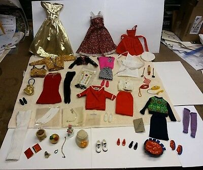 Vintage Lot of Barbie Mattel Clothes, Jewelry & Accessories Great Condition