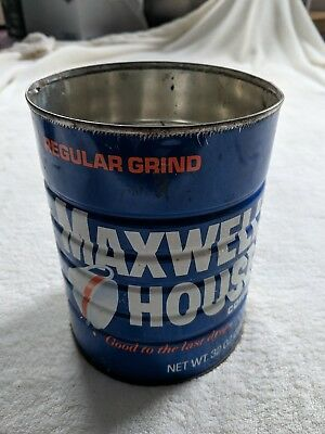 Antique Maxwell House 2# Lb Coffee Can