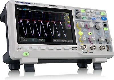 Siglent Technologies SDS1202X-E 200mhz Digital Oscilloscope 2 Channels