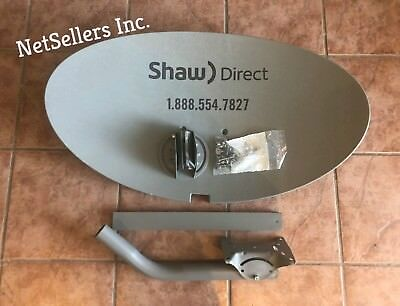 {Pack OF 4 } LOT 4 Brand New  SHAW DIRECT  SATELLITE Dish 60E 60cm ( NO LNB)