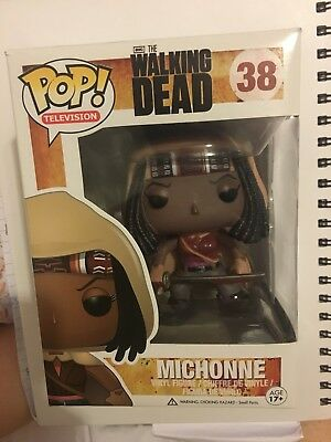 Pop Television The Walking Dead Michonne #38 By Funko New