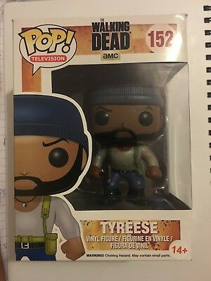 Funko Pop Television Figure - The Walking Dead - Tyreese - No 152