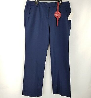 LORD & TAYLOR Flat Front Dress Pants Womens 16W Plus Size ...