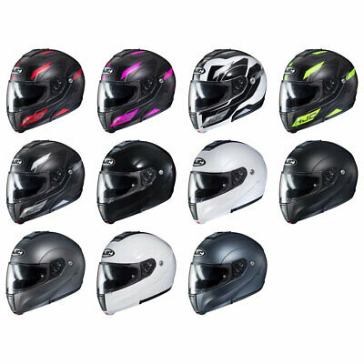 Modular Flip-Up Full-Face Motorcycle Helmet SF Red//Grey HJC CL-MAX3 Gallant