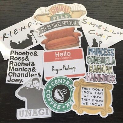 Friends Tv Show Sticker Pack