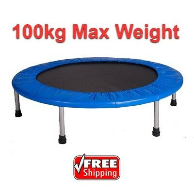 "40"" Mini Tramp Trampoline Rebounder with Padded Cover Double Spring"