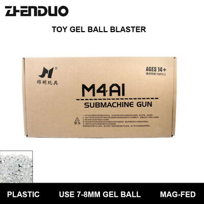 Brand New JinMing 8th Gen M4a1 Mag-fed Water Gel Ball Blaster Toys