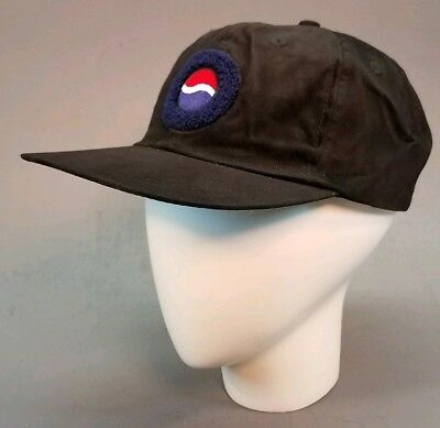 Pepsi Logo Snapback Hat Black New With Tags