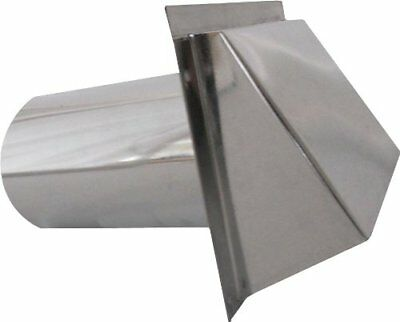 Speedi-Products SM-RWVD 5 Wall Vent Hood with Spring Damper, 5-Inch